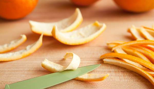 Orange Peel - How to Whiten Teeth Naturally at Home Fast